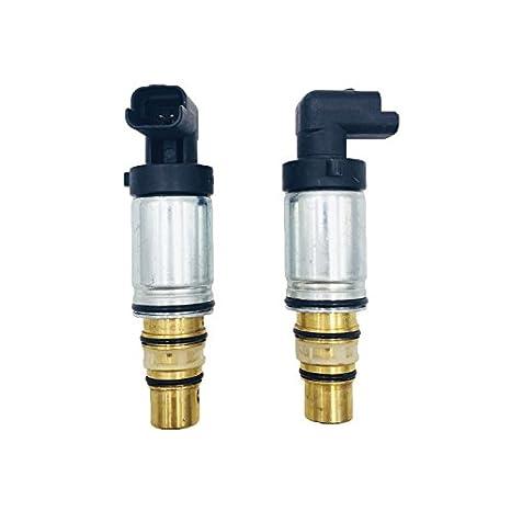 cvc14 cvc16 sd6 C12 aire acondicionado ac compresor válvula de control electrónico/válvulas de control de refrigerante para peugeot 307/Fiat: Amazon.es: ...