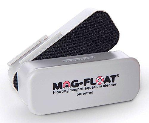 Mag-Float-125 Medium Glass Aquarium Cleaner (w/ scraper option) by Mag-Float ()