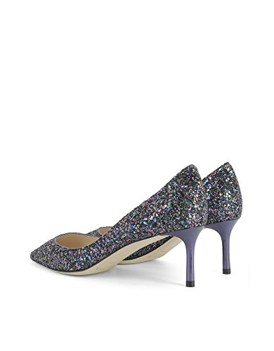 Purple Women's Pumps Choo Glitter ROMY60CGFPETROL Jimmy w15tq7x