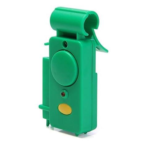 TOOGOO (R) verde detector alarma de picada pesca con caña sonido Indicador: Amazon.es: Deportes y aire libre