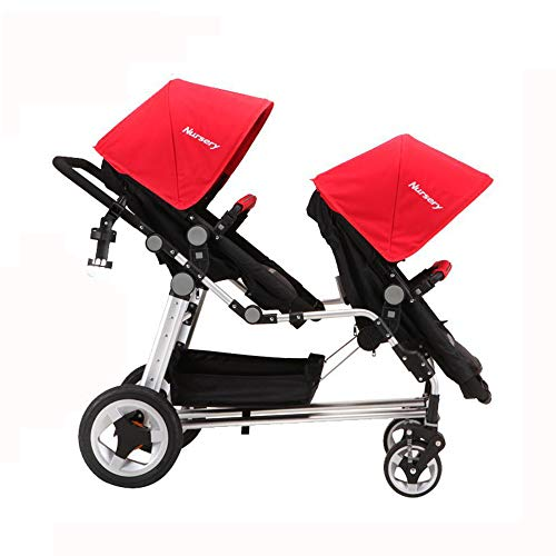 (Yunfeng Baby Pushchair Carriage,Multi-Functional Aluminum high-View Shock Inflatable Wheel Trolley can be Laid Down Foldable Portable Baby Stroller)
