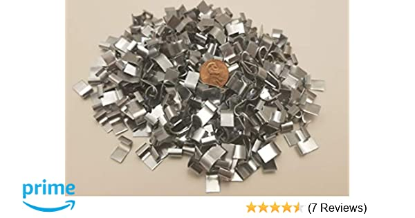 Game Bird Cages. 150 Stainless Steel J Clips Cage Clips for Rabbit Poultry