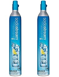 Sodastream 60L Co2 Carbonator, 14.5oz, Set of 2