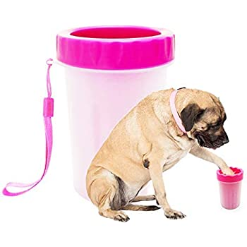 94b142108ef Amazon.com  Paw Plunger For Dogs - Portable Paw Cleaner For Medium ...