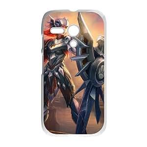 Motorola G Cell Phone Case White League of Legends Iron Solari Leona VB6989186