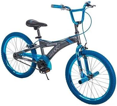 Huffy - Bicicleta BMX para niño (50,8 cm), Color Plateado y Azul ...