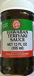Halm\'s Hawaiian Teriyaki Sauce Hawaiian 12 Oz