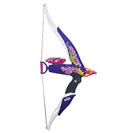 Nerf Rebelle Rompecorazones Bow Llama púrpura fuego