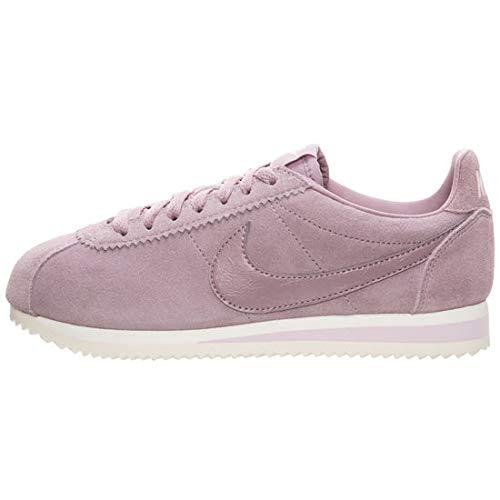 Nike Women's Classic Cortez Suede Sneakers (Elemental Rose/Elemental Rose, 9 B(M) - Sneakers Suede Classic