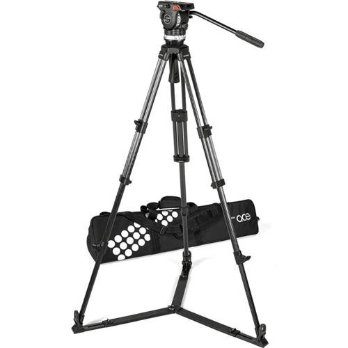 Sachtler Ace XL Tripod System with CF Legs and Ground Spreader ()