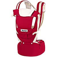 Beemoon 9-in-1 Ergonomic Baby Carrier with Hip Seat