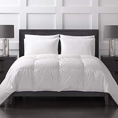 Sharper Image Year Round White Down Comforter/Duvet Insert, Twin