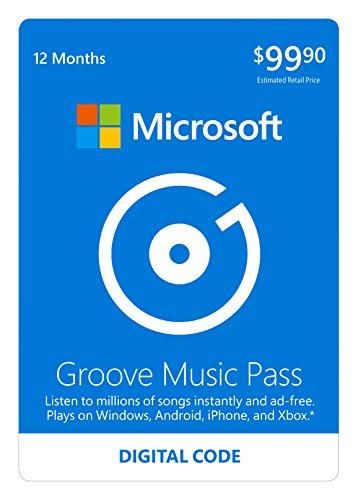 Microsoft Groove Music Pass Digital