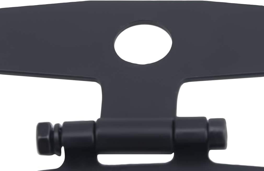 CAVIVI Einstellbare Motorrad-Kennzeichenhalterung Universal-Kennzeichenhalter R/ücklichthalter Halterung f/ür Motorrad