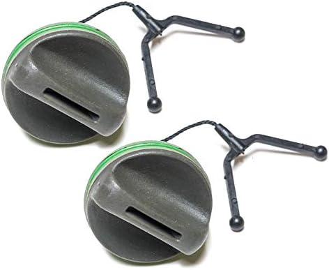 Husqvarna 2 Pack of Genuine OEM Replacement Fuel Cap Kits # 530071266-2PK