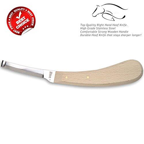 Premium Qualité maréchal-ferrant Sabot couteau Lame Unique Equine Instruments Certifié CE Dr.Surgical HF-RHSB