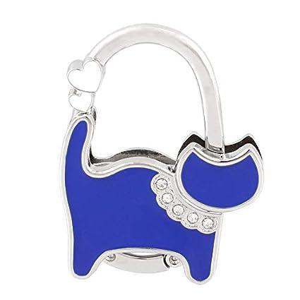 Metal RhInestone Folding Handbag Purse Table Hook Hanger Holder PK