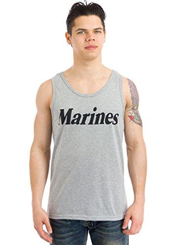 るにもかかわらず不正直(ロスコ) ROTHCO ミリタリーフィジカルトレーニングタンクトップ  'Marines' 〔60052〕 (S)