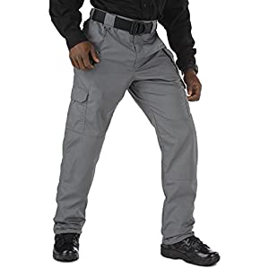 5.11 Tactical Men's Taclite Pro Lightweight Performance Pants, Cargo Pockets, Action Waistband, Style 74273, Storm, 48…