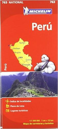 Mapa National Perú (Mapas National Michelin): Amazon.es: Vv.Aa, Vv.Aa: Libros