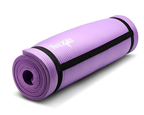 purple-nbr-yoga-mat-10-mm-extra-thick-pad-non-slip-68-x-24-with-carrying-strap