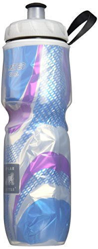 Polar Bottle Insulated Water Bottle (Spin Bermuda) (24 oz) - 100% BPA-Free (24 Ounce Vacuum)