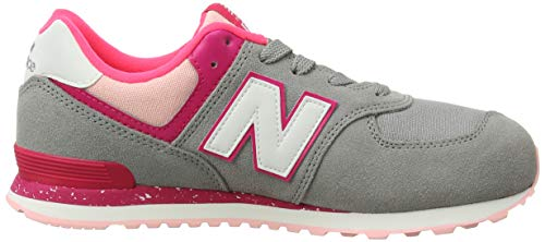 grey New Unisex Bambini pink – Grigio Zing Balance Hb 574v2 Sneaker 0wHq7Z40
