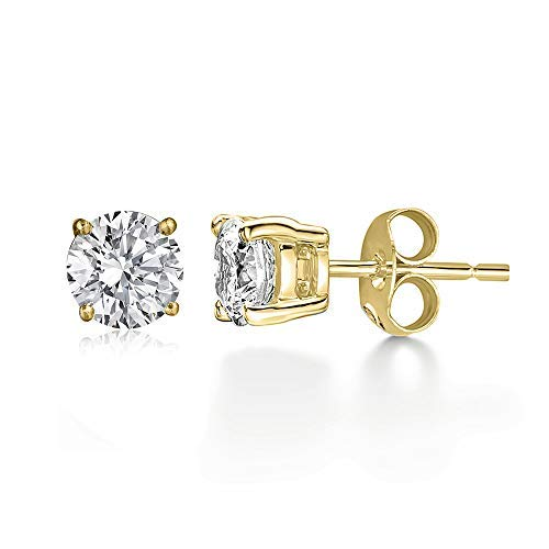 100% Pure Diamond Earrings 1/2 ct Made in USA IGI Certified for sale  Delivered anywhere in USA