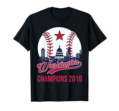 Washington baseball vintage Washington champions shirt T-Shirt