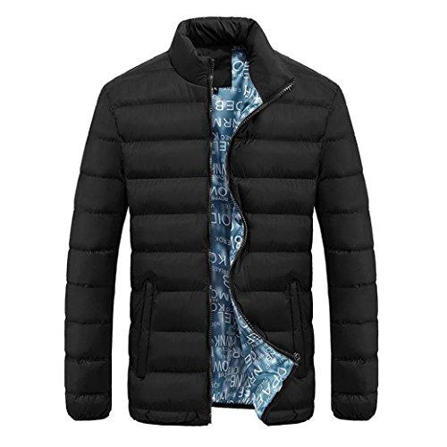 Sunfei Fashion Winter Women Jacket Long Thick Warm Down Jacket Slim Coat Overcoat (L, Black) by Sunfei