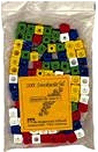 Mathematik. Arbeitsmaterial zu den Ausgaben B, BW, N, NW: Mathematik mit Steckwürfeln, Steckwürfel, allseitig steckbar