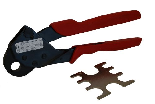 2 Cavity Hex Crimp Tool (Sargent 7302 ES 1/2-Inch Easy Seal Pex Crimp Tool)