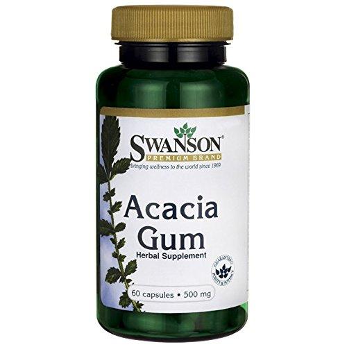 Swanson Acacia Gum 500 Caps