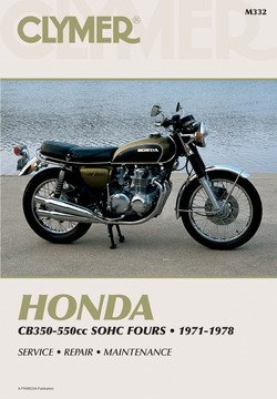 Download Honda CB350F CB400F CB500 CB550 Clymer Repair Manual PDF