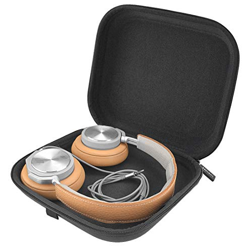 Linkidea Case for B&O Play H2, H6, H7, H8, H9, H9i, Parrot Zik, Sony WH1000X, MDR1000X Headphones/Hard Carrying Bag/Headset Protective Travel Bag with Space for Cable, Charger and Accessories