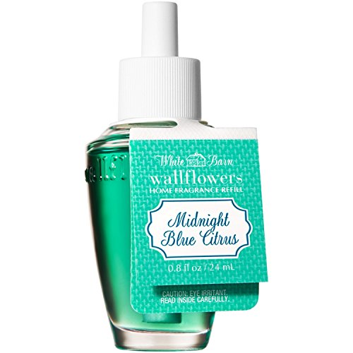 White Barn Bath and Body Works Wallflowers Refill New Look! (Midnight Blue Citrus)