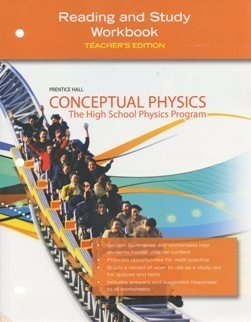 Prentice Hall Conceptual Physics: Reading and Study Workbook, Teachers Edition