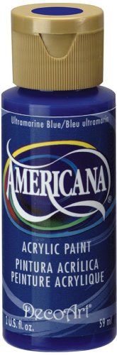 DecoArt Americana Acrylic Paint, 2-Ounce, Ultramarine Blue