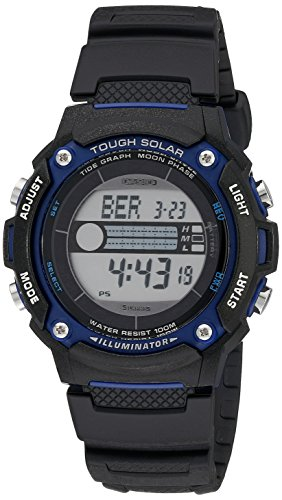 Casio Men's WS210H-1AVCF Sport Watch with Black Resin Band