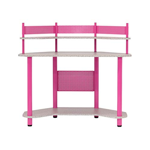 Calico Designs 55122 Study Corner Desk, Pink ()
