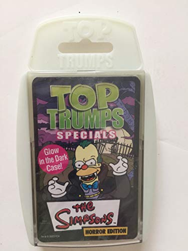 Top Trumps Card game - Simpsons Horror]()
