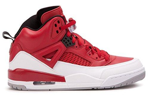 Jordan Nike Herren Spizike Basketballschuh Gym Rot / Schwarz / Weiß / Wolf Grey