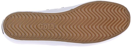 Gola Coaster, Men's Low-Top Sneakers White/White