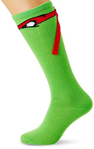 Teenage Mutant Ninja Turtles Knee High Socks With Ribbon Raphael -