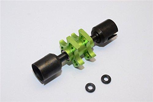 Tamiya TT-01 Aggiornamento Parti Aluminium Front One-Way - 1Pc verde