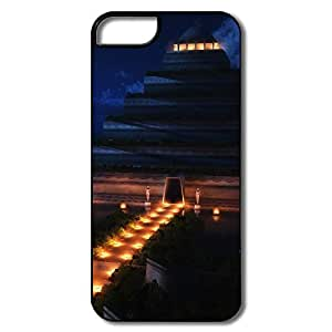 Amazing Design Pyramid Temple Night IPhone 5/5s Case For Birthday Gift wangjiang maoyi