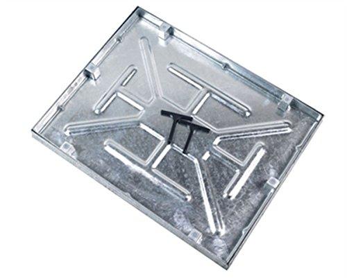 AQK 6045. 600 X 450 X 43.5mm Water & Odour Tight Recessed Manhole Cover Clark Drain