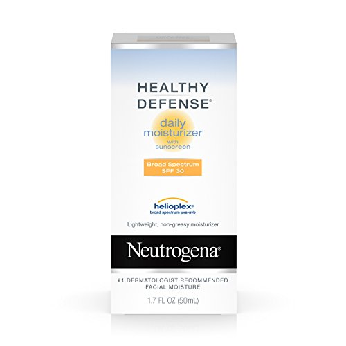 Spf 30 Neutrogena (Neutrogena Healthy Defense Daily Moisturizer For Sensitive Skin With Broad Spectrum Spf 30 Sunscreen, 1.7 Fl. Oz.)