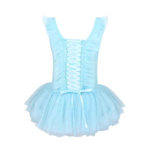 Bond Girl Costume Dress (H:oter Sweet Pink Princess Ballet Tutu Dress With Back Bonds Design (Size 4-7), Price/Piece - CambridgeBlue)