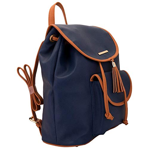 Backpack Women's Multi Handbag Designer O Lupo Satchel Pocket Blue Lapis xwvtq